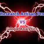 Research Artisan ProとGoogle Analyticsを比較してみた!